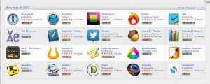 Mac  App Store Best of 2013